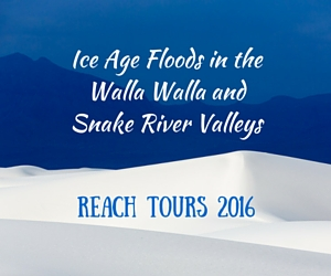 REACH Tours 2016 Featuring Ice Age Floods in the Walla Walla and Snake River Valleys | Richland, WA