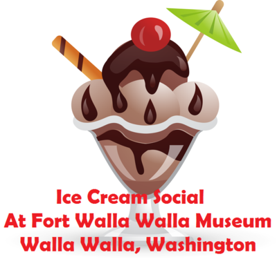 Ice Cream Social At Fort Walla Walla Museum In Walla Walla, Washington