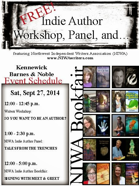 Free Indie Author Workshop, Panel, And Bookfair In Kennewick, Washington