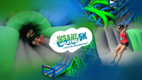 Insane Inflatable 5K Tri-Cities, WA