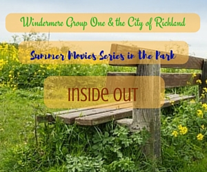 Summer Movies Series in the Park Presents 'Inside Out' | Windermere Group One and the City of Richland, WA