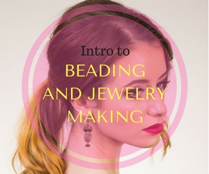 Intro to Beading and Jewelry Making for Teens: Create Unique Holiday Presents at Confluent Space Tri-Cities in Richland, WA