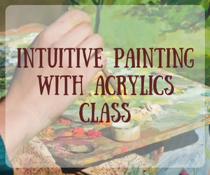 Confluent Space Tri-Cities Presents Intuitive Painting with Acrylics Class: Learning Art in a Playful Environment in Richland WA
