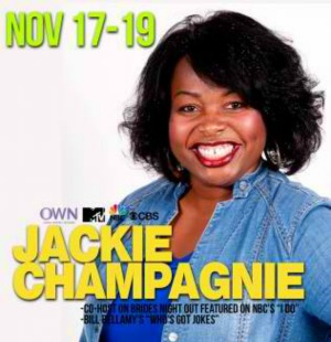 Jackie Champagnie Performs at Joker's Comedy Club: Let Jackie Fabulous Tickle Your Funny Bones | Richland WA