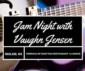Emerald of Siam's Jam Night with Vaughn Jensen in Richland, WA