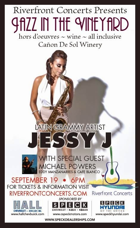 Jazz In The Vineyard Featuring Jessy J Benton City, Washington