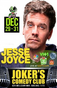 Jessy Joyce, The Emmy-Nominated Writer and Sharp Comedian, Performs at Jokers Comedy Club | Richland, WA
