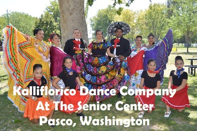 Kalliflorico Dance Company At The Senior Center Pasco, Washington