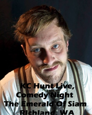 KC Hunt Live, Comedy Night At The Emerald Of Siam In RIchland, Washington