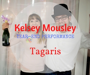 Kelsey Mousley Performs Live: Taverna Tagaris Ending 2016 With a Bang | Richland, WA
