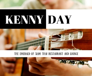 Kenny Day Serenades Your Soul with Great Rhythm and Blues at The Emerald of Siam Thai Restaurant and Lounge | Richland, WA