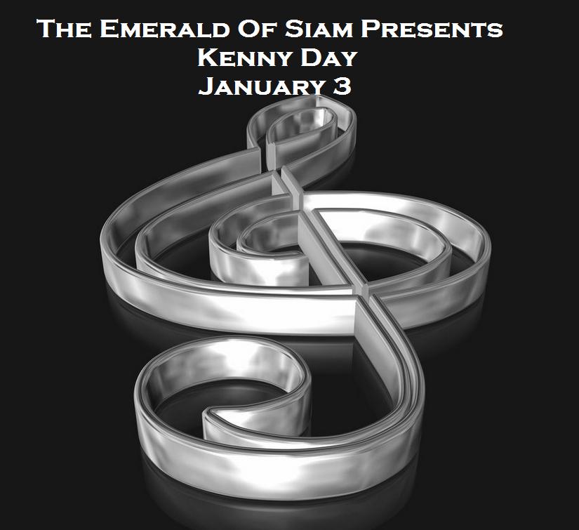 The Emerald Of Siam In  Richland, Washington Presents Kenny Day