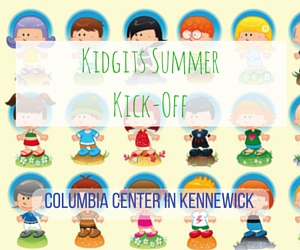 Kidgits Summer Kick-Off: A Morning of Artsy Crafts and Fun Kiddie Games at Columbia Center in Kennewick