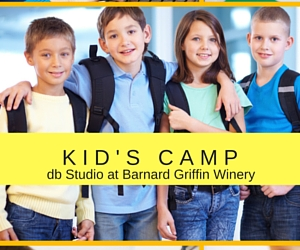 Kid's Camp at db Studio at Barnard Griffin Winery: Glass Art Class | Richland, WA