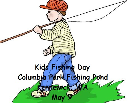 Kids Fishing Day At Columbia Park Fishing Pond Kennewick, Washington