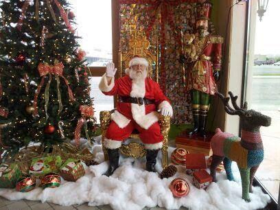 Food And Coat Drive With Santa Claus Kidz Biz Salonz Richland, Washington