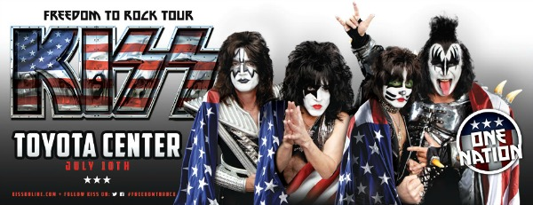 """Toyota Of Tri Cities >> Kiss """"Freedom to Rock Tour"""" Featuring Caleb Johnson from ..."""
