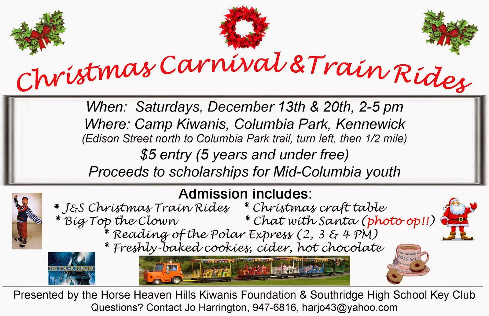 Kiwanis Club Of The Horse Heaven Hills Foundation Christmas Carnival Kennewick, Washington