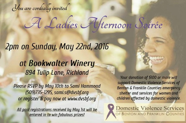 Ladies Afternoon Soirée 2016: A Delightful Way to Help Save the Sufferers of Domestic Violence in the Tri-Cities | DVSBF, Kennewick