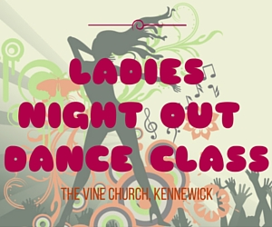 Ladies Night Out Dance Class: Begin Learning Jazz Dancing at The Vine Church, Kennewick