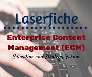 Laserfiche Enterprise Content Management (ECM) Education and Strategy Forum | City Hall in Pasco, W