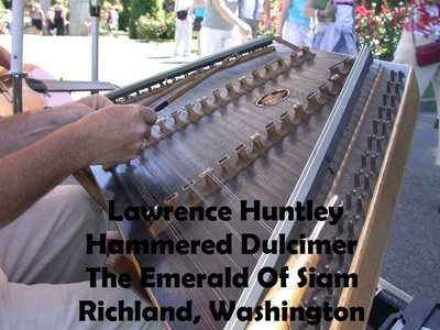 Lawrence Huntley Hammered Dulcimer The Emerald Of Siam Richland, Washington