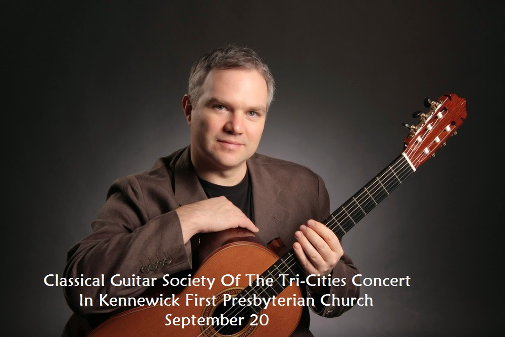 Classical Guitar Society Of The Tri-Cities Concert In Kennewick, Washington