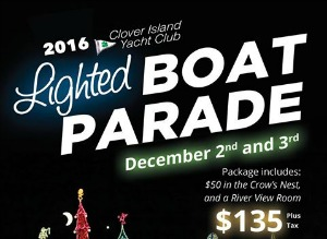 Clover Island Yacht Club's Annual Lighted Boat Parade: See the Glow of the Columbia River with Colorful Lights | Kennewick, WA