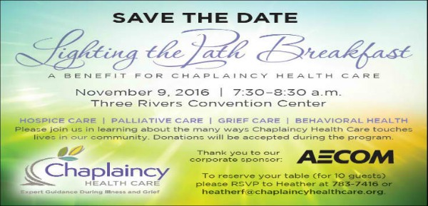 Lighting the Path Breakfast: A Benefit for Chaplaincy Health Care - Morning Indulgence for a Cause in Kennewick