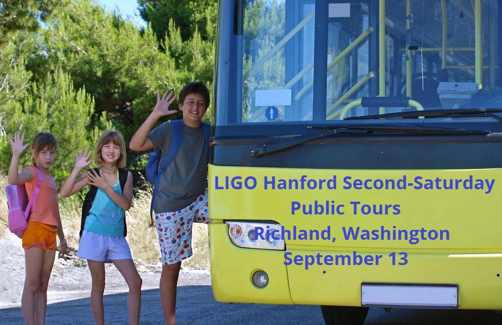 LIGO Hanford Second-Saturday Public Tours Richland, Washington