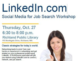 LinkedIn.com: Social Media for Job Search Workshop | Richland Washington Public Library