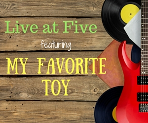 Live at Five Featuring My Favorite Toy Band: Providing Great Music to Groove On This Summer at John Dam Plaza | Richland, WA