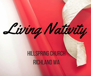 Living Nativity 2015 at Hillspring Church, Richland WA