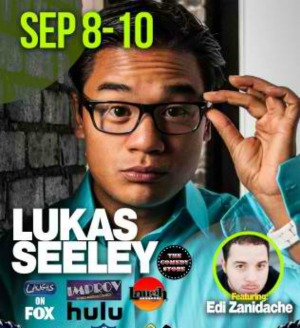 Lukas Seeley Performs at Joker's Comedy Club: A 'Silly' Evening with 'Seeley' | Richland, WA