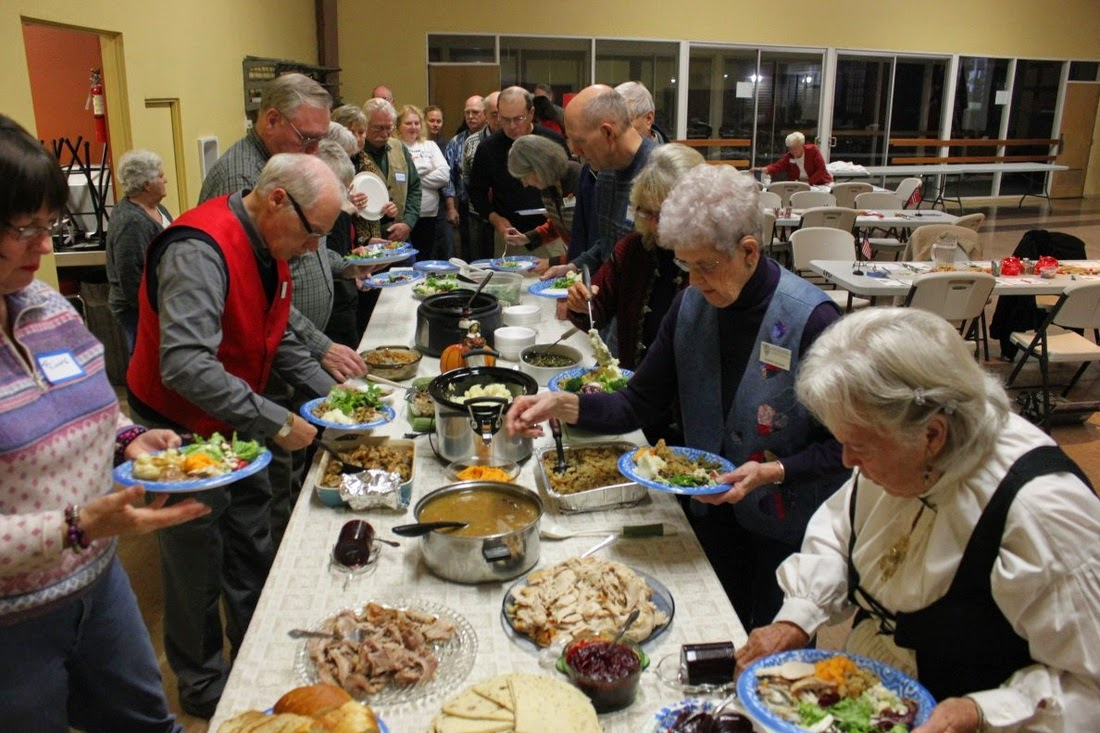Sons Of Norway Lutefisk & Meatball Dinner In Kennewick, Washington