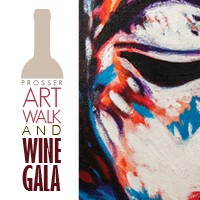 12th Annual Prosser Art Walk And Wine Gala In Prosser, Washington