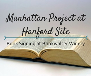Book Signing at Bookwalter Winery Featuring