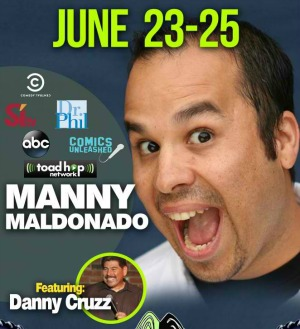 Joker's Comedy Club Presents Manny Maldonado: Laugh Your Stress and Sorrows Away | Richland, WA