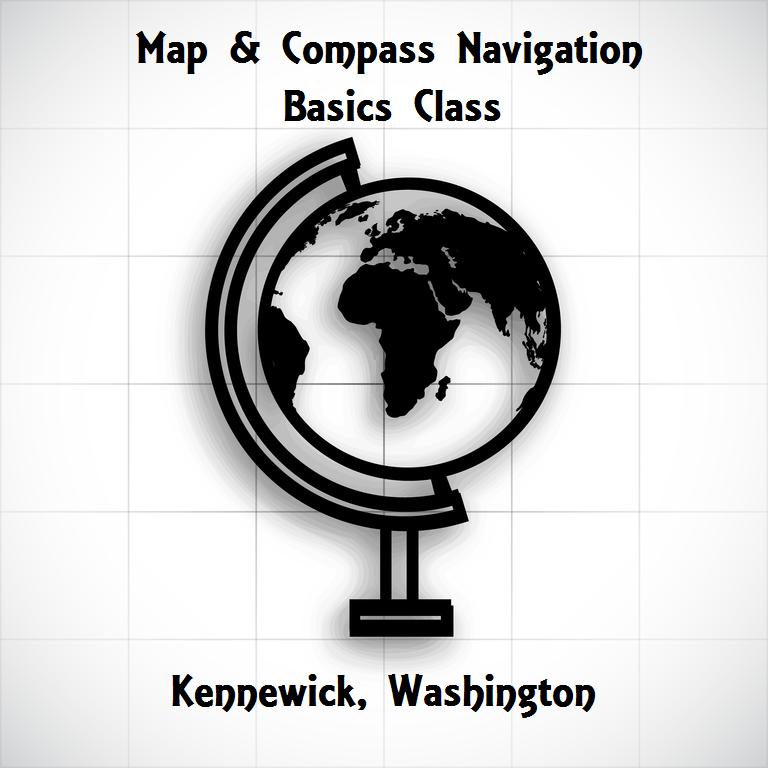 Map & Compass Navigation Basics Class In Kennewick, Washington