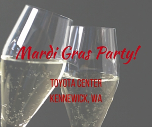 Mardi Gras Party | Washington Wine Industry Foundation, Kennewick