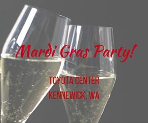 Mardi Gras Party | Washington Wine Industry Foundation, Kennewick