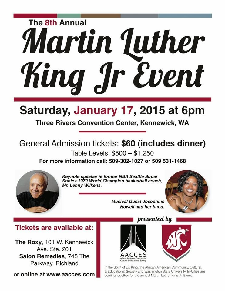 8th Annual Martin Luther King Jr. Event In Kennewick, Washington