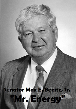 Senator Max E. Benitz, Sr.