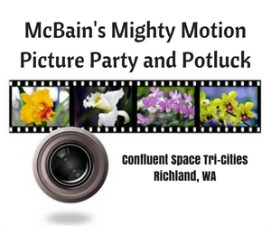 McBain's Mighty Motion Picture Party and Potluck | Confluent Space Tri-Cities in Richland, WA