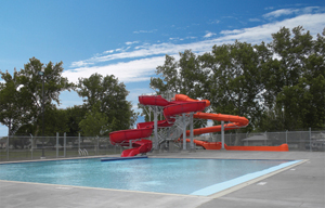 Memorial Pool Opening Day In Pasco, Washington