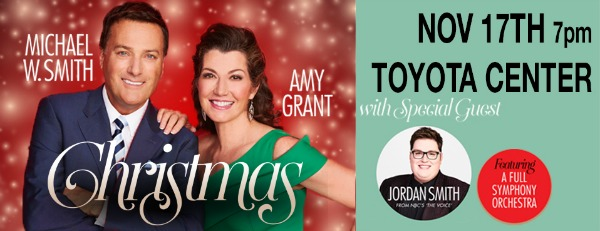 Michael W. Smith and Amy Grant 'Christmas Tour': Make This Celebration More Meaningful with Great Holiday Music and Charitable Acts | Toyota Center in Kennewick