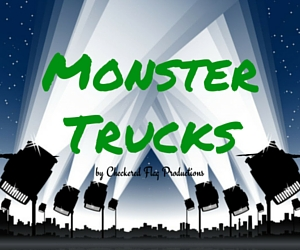 Monster Trucks Presented by the Checkered Flag Productions in Pasco, WA