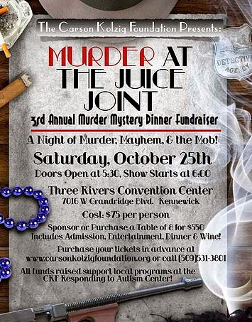 Murder At The Juice Joint - Mystery Fundraiser Dinner In Kennewick, Washington