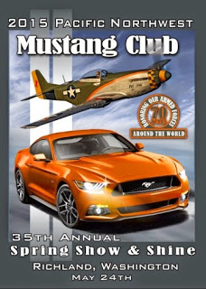 Pacific Northwest Mustang Club's Annual Spring Show & Shine Car Show Richland, Washington