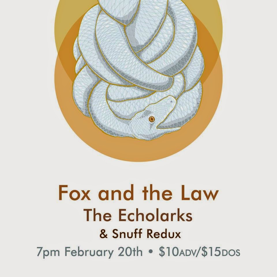 MUX Presents Fox And The Law + The Echolarks + SNUFF REDUX Richland, Washington